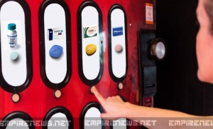 Old Man Becomes Job Annihilator by Inventing Prescription Pill Vending Machine