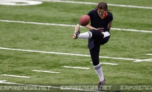 Pittsburgh Steelers Tryout First Female Player