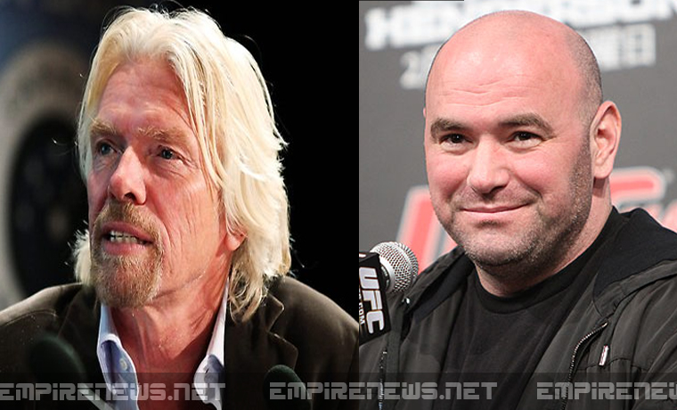 empire-news-UFC teams with virgin group for first UFC fight in space