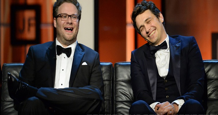 rogen and franco taken into protective custody