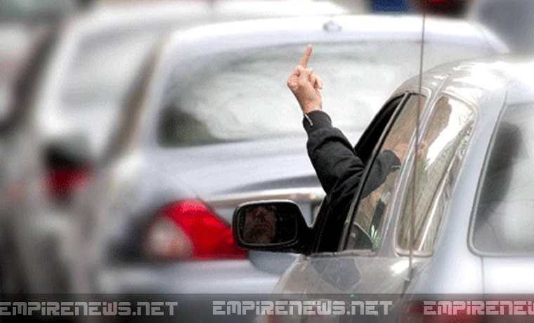 'Road Rager' Dislocates Middle Finger, Files Lawsuit Against Woman Who Cut Him Off