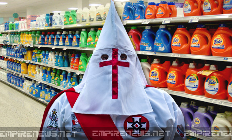 KKK Wizard Tries Using Membership Card To Get Bleach Discount At Grocery Store