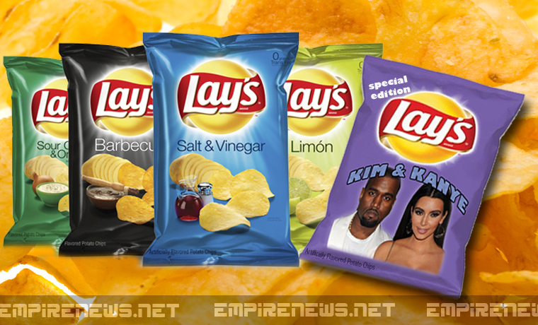 Lay's Potato Chips To Introduce New 'Kim & Kanye' Flavor ...