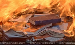 Librarian Hospitalized After Book Burning Destroys Library