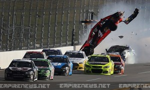 NASCAR Driver Falls Asleep at Wheel, 22 Injured