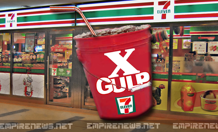 New 150 oz. Mega-Sized Drinks To Be Released In 7-11 Convenience Stores