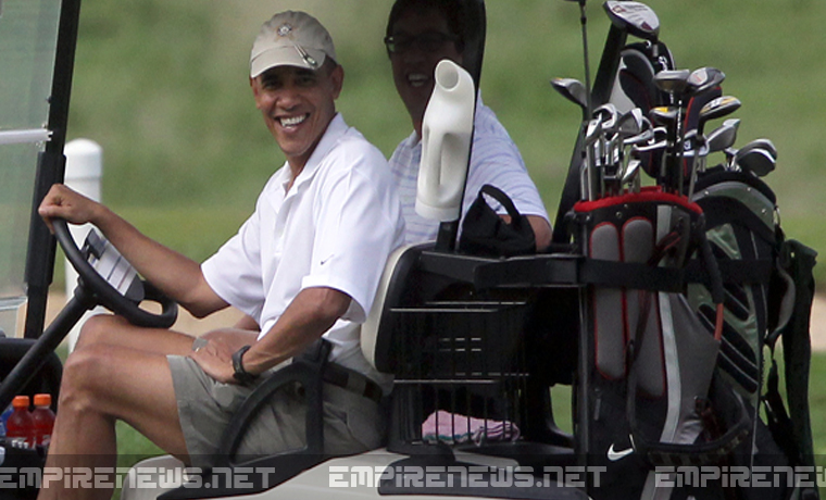 Obama Drains Martha's Vineyard Pond To Retrieve Commemorative Golf Ball