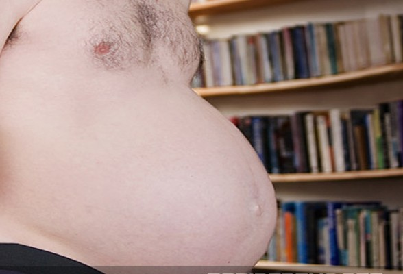 World's First Pregnant, Natural-Born Man Can't Wait To 'Get This Damn Thing Out of Me'