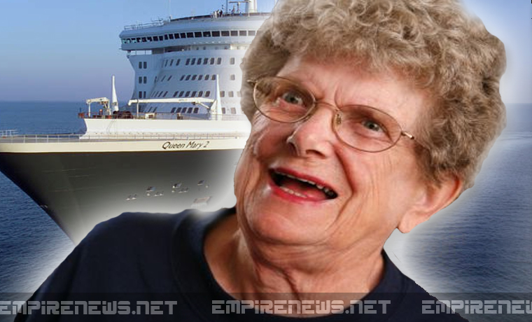 85-Year-Old Woman Gives Berth On Steamship