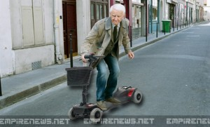 Hoveround Designs Mobility Skateboard For Active Seniors