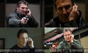 Liam Neeson Says Next Movie Is Just 'Two Hours of Being a Badass' While Talking on Phone