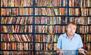 Man With World's Largest DVD Collection Can't Find A Thing To Watch