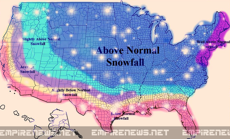 Meteorologists Predict Record Shattering Snowfalls Coming Soon; Bread & Milk Prices Expected To Soar