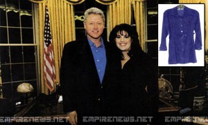 Bill Clinton Buys Monica Lewinsky's Famous 'Stained Dress' In Online Auction