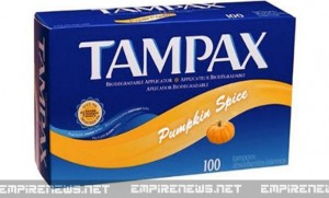 Tampax To Market Pumpkin Spice Tampons