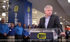 Best Buy CEO Says Black Friday Sales Went Well, 'Only 47 Deaths This Year'