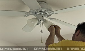 Ceiling Fans Can Cause Wi-Fi Particles To 'Break Down', Slow Down Home Internet