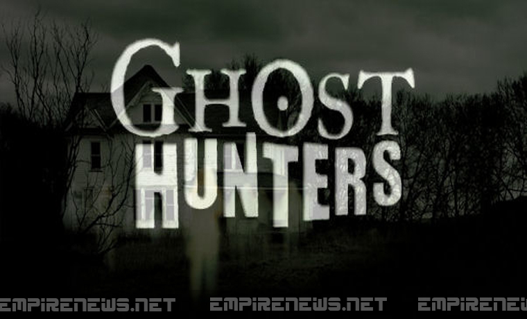 �ghost hunters� capture real ghost on film while shooting