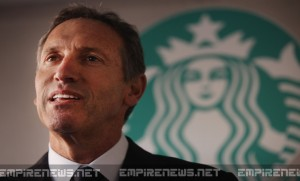 Starbucks CEO To Divide Up His $8M Christmas Bonus Among Minimum Wage Employees