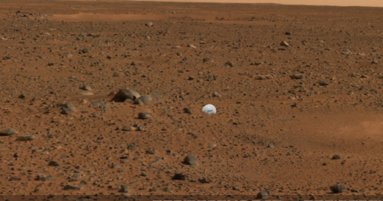 Golf Ball Hit From Moon During Apollo 14 Mission Found By Rover On Mars