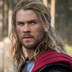 Chris Hemsworth may have carried Thor's hammer through several Marvel films, but it looks more like someone beat him in the face with it.