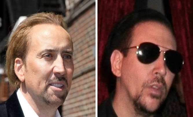 Shock-Rocker Marilyn Manson Reveals He Was Adopted, Says Nicolas Cage Is Biological Brother