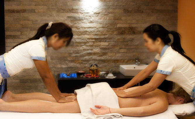 super porn thai massage with happy end