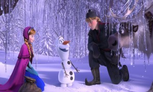 """I couldn't believe what I saw when I paused this scene,"" said Mark Snow, 'Frozen' super-fan."