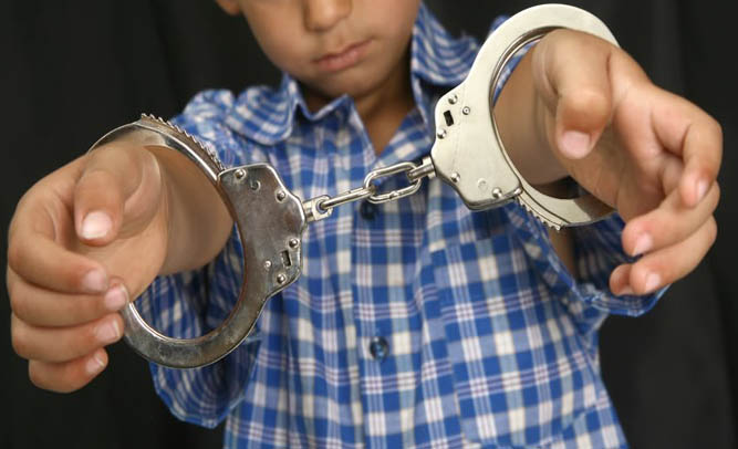 Eight-year-old Sentenced to Prison for Petty Theft