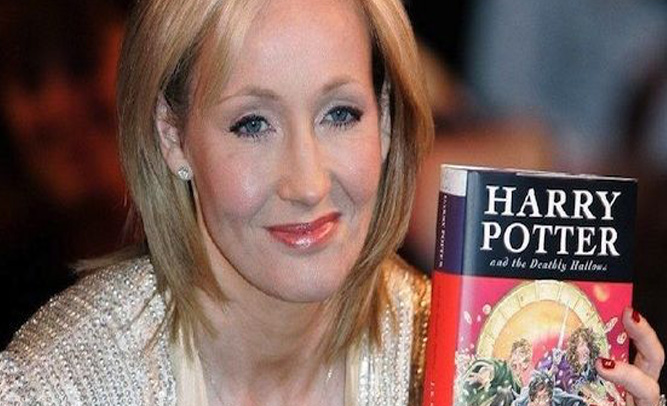 J.K. Rowling Reportedly Broke, Announces New Harry Potter Book