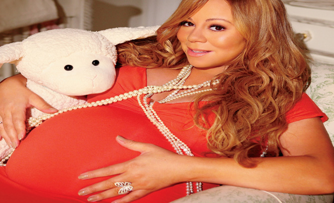 Mariah Carey Says She Is Pregnant With Michael Jackson's Baby Thanks To Artificial Insemination