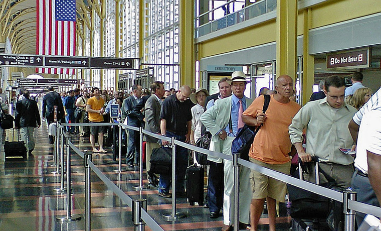 Muslim Man Delaying Queue in Airport Must be a Member of ISIS