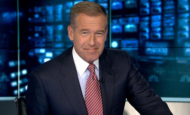 NBC Nightly News Anchor Brian Williams Claims He Shot Osama Bin Laden