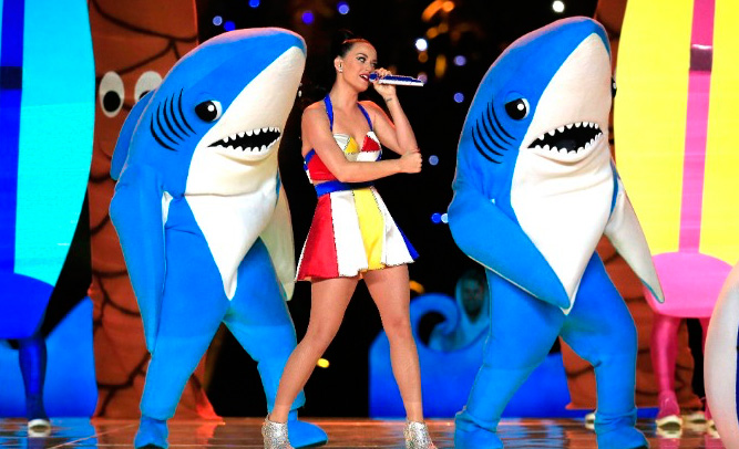 Survivor of Shark Attack to Sue Katy Perry for 'Insensitive' Super Bowl Halftime Performance