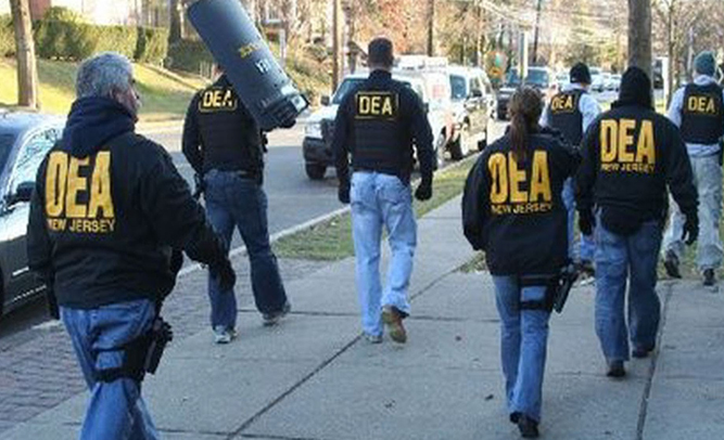 Deluded DEA Junkies Think They Can Win Drug War