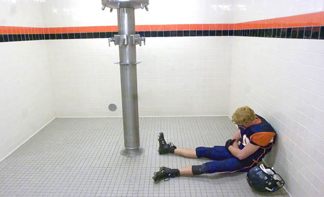 High School Football Player Cut From The Team After Refusing To Shower With The Coach