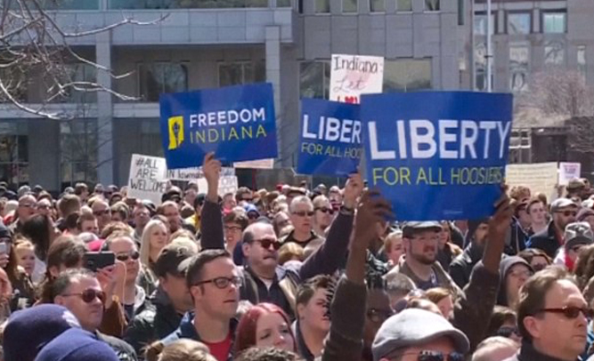 Indiana Looks Toward Future; Hopes To Ban Blacks, Jews From Stores Next