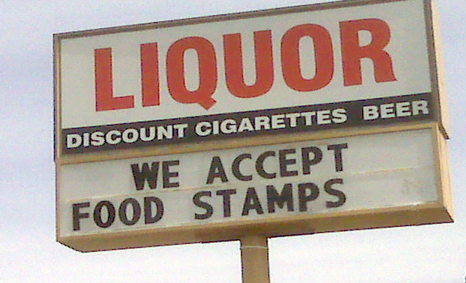 Most Liquor Stores Throughout U.S. Now Accepting Food Stamps