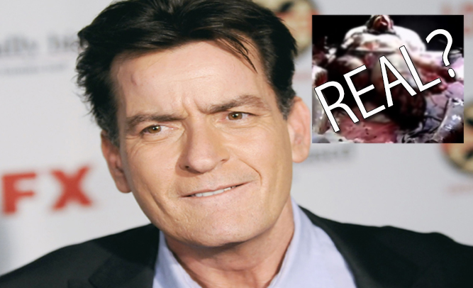 Charlie Sheen Duped By Horror Film Again Turns 'Snuff Movie' Over To FBI