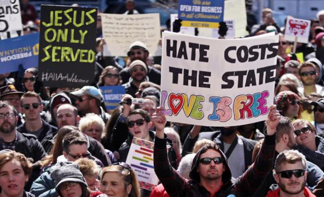 Free Conversion Therapy Offered to Gays Who Have Been Refused Service By Indiana Businesses