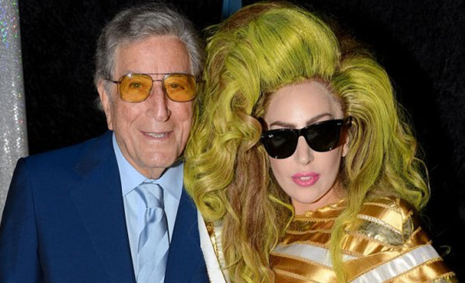 Tony Bennett And Lady Gaga To Star In Buddy Cop Movie