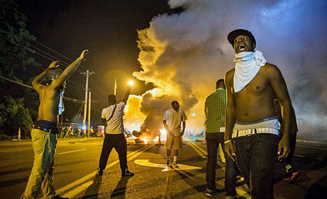 Ferguson, Missouri: 'Well, At Least It's Not Us Burning Again'