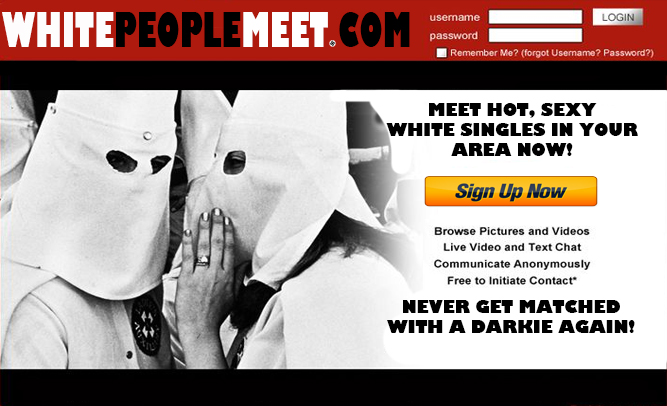 New Dating Website 'WhitePeopleMeet.Com' Causing Controversy After Launch Last Week