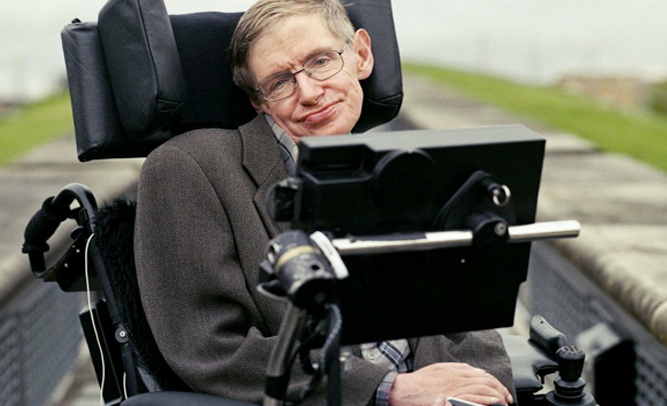 Stephen Hawking Allegedly Seen Walking In Secret Security Footage
