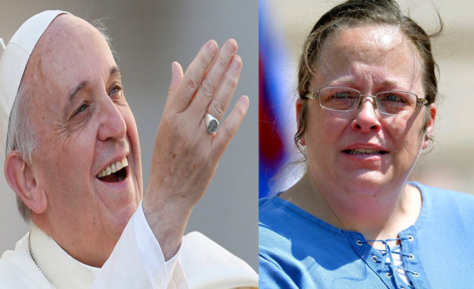 pope kim davis
