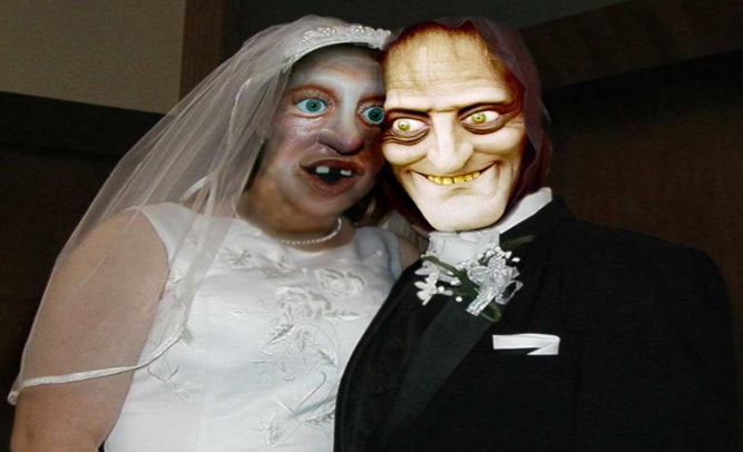 Worlds Ugliest Woman Married To Man Who Wore Mask To Make Wife Feel Pretty -2850