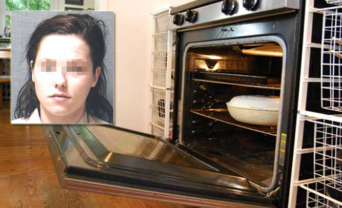 teen cooks child she was babysitting in oven after taking bad acid Captain On Acid like
