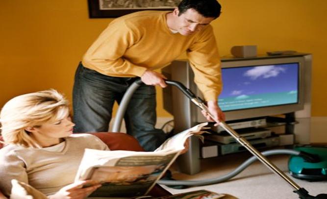 Men household chores