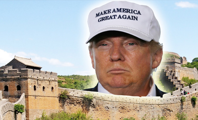 news trumps border wall idea bonkers says everyone