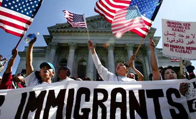 illegal immigrants come to the united